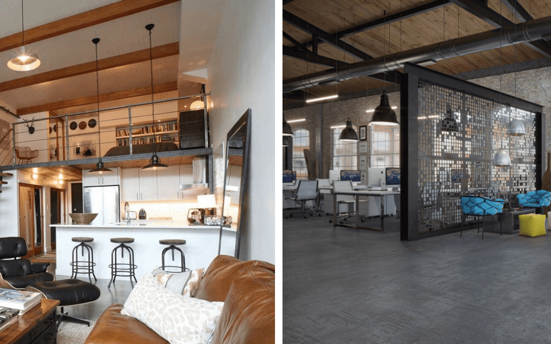 Arredamento stile industriale loft come arredare un for Superstudio arredamento